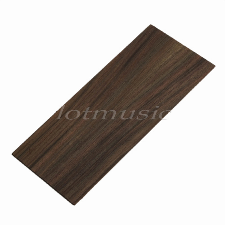 1Pc Guitar Headplate Headstock Veneer Sheet For Luthier DIY Parts Rosewood Wood