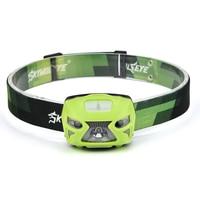 SKYWOLFEYE Headlight XPE 3W LED 300LM Headlamp Motion Sensing Cree Sensor Head Light Hunting camping Flashlight Cycling Fishing