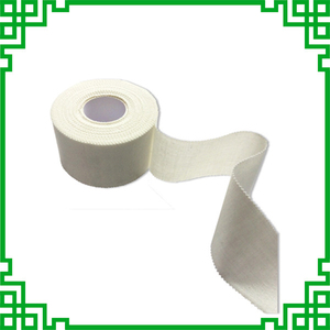 Image 2 - High Viscosity White Fine Cloth Medical Sports Tape Waterproof Cotton Serrated Tapes Can Be Customized