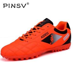 0170411d24bb PINSV Men Kids Boots Men Sport Superfly Soccer Cleats Superfly TF Footwear
