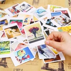 55 шт./упак. винтажная мини-открытка Lomo, поздравительная Почтовая открытка на день рождения, конверт, подарочная карта, набор, открытка
