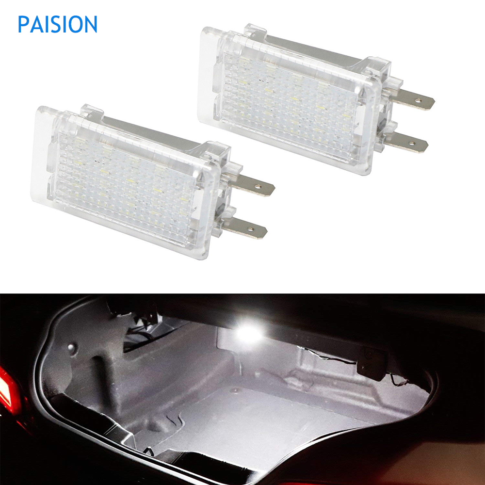 small resolution of 2pcs led luggage trunk compartment boot light for opel astra g