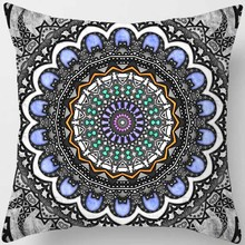 Fashion  many shapes different patterns men women square pillow case round flowers pattern cover