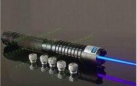 HOT! Azul militar Laser Pointer 500000 m 50 w 450nm Queima Jogo/Madeira Seca/Vela acesa/Queimar Cigarros  camping Caça Lâmpada de Sinal
