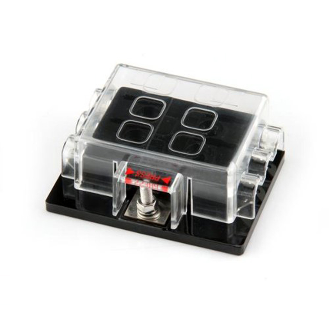 small resolution of cover material clear pc material widely used in airplane subway bus ship tanker modified car eco car etc package includes 1 x fuse box