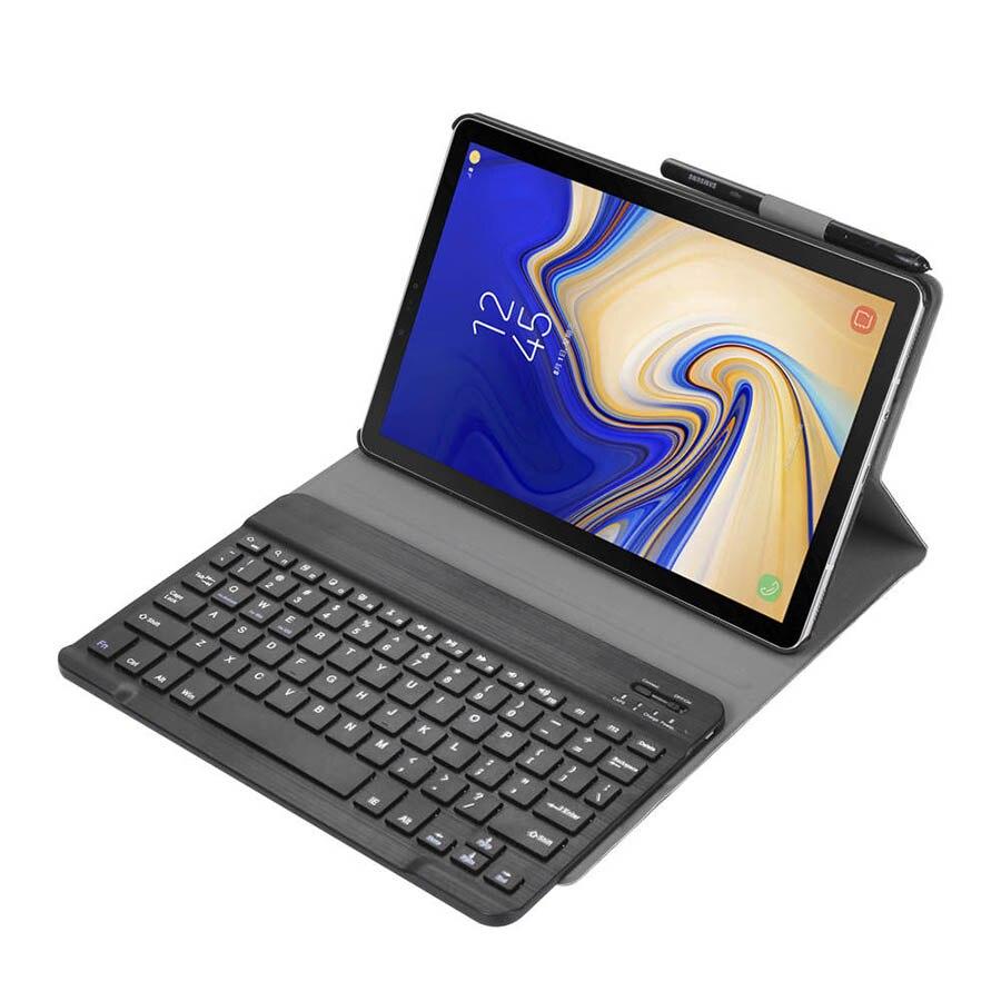Bluetooth Keyboard Leather Case For Samsung Galaxy Tab A 10.5