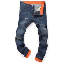 2016 New Brand Jeans Men Male Casual Straight Denim Men's Jeans Fashion Slim Wholesale Jeans Pants Men Size 28-40