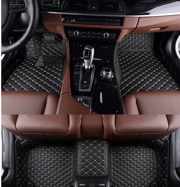 Best quality! Custom special car floor mats for Hummer H2 2008-2003 durable waterproof carpets for Hummer H2 2005,Free shipping