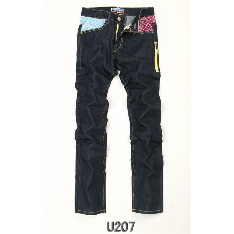 Superably Brand Jeans Men black Color Soft Denim Pants Stretch Straight Slim Fit Men Jeans cowboys Cotton Ripped Jeans Homme