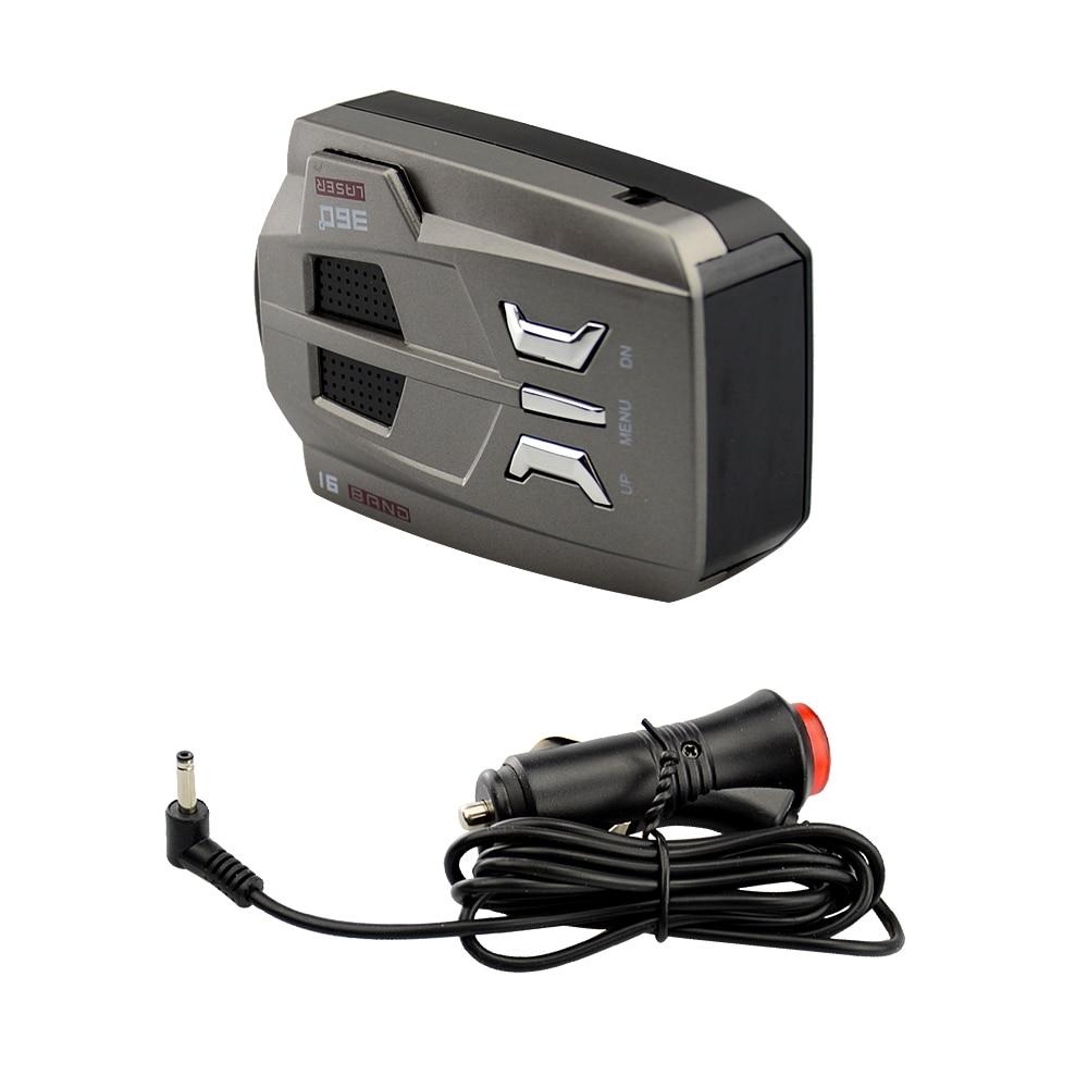 OkeyTech Best V9 Car Radar Detector 16 ապրանքանիշ LED LED - Ավտոմեքենաների էլեկտրոնիկա - Լուսանկար 5