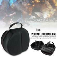 Fashion Hard EVA Travel Protect Bag Storage Box Carrying Cover Case for Oculus Quest Virtual Reality System and Accessories(China)