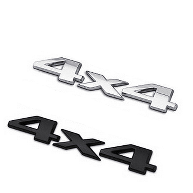 DSYCAR 3D 4x4 Moto Car sticker Logo Emblem Badge Car Styling for Fiat Bmw Jeep Ford Audi volkswagen toyota mazda opel Lada volvo