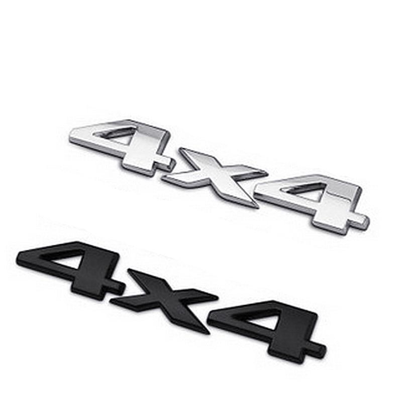 DSYCAR 3D 4x4 Moto Auto Aufkleber Logo Emblem Abzeichen Auto Styling für Universal Cars Motorrad Dekorative Accessoires