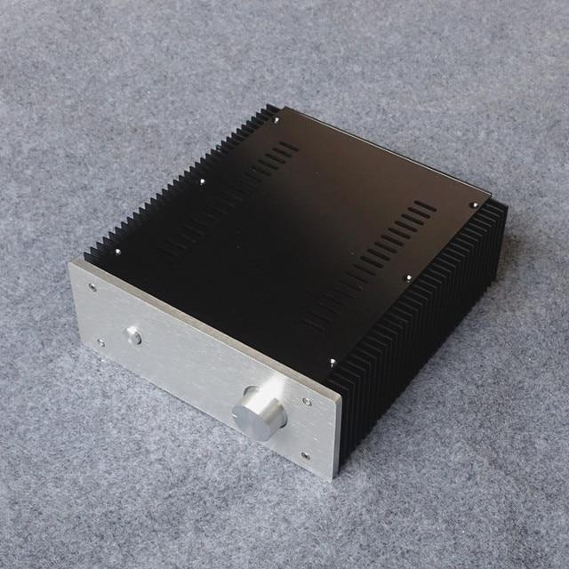 Бриз audio-10w 1969 Малый класса алюминиевый корпус коробка с обоими радиатор усилитель мощности алюминиевый корпус
