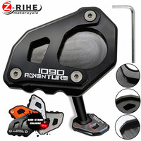 Motorcycles Accessories Parts For KTM 1090 Adventure CNC Foot Side Stand Enlarge Pad Kickstand Extension Plate