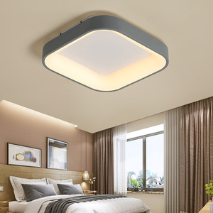 Image 3 - NEO Gleam Round/Square Modern Led Ceiling Lights For Living Room Bedroom Study Room Dimmable+RC Ceiling Lamp Fixtures 90 260V