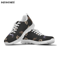 b71296b457 INSTANTARTS Dachshund Dog Printed Running Shoes Women Outdoor Sports Flat  Shoes Female Lady Girl Students Walking
