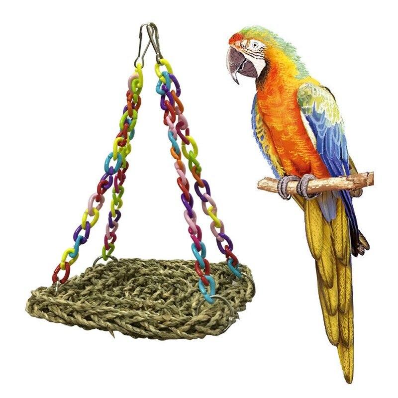 Pet Bird Creations Mini Flying Trapeze Toy for Birds Toys Supplies Pet Bird Supplies