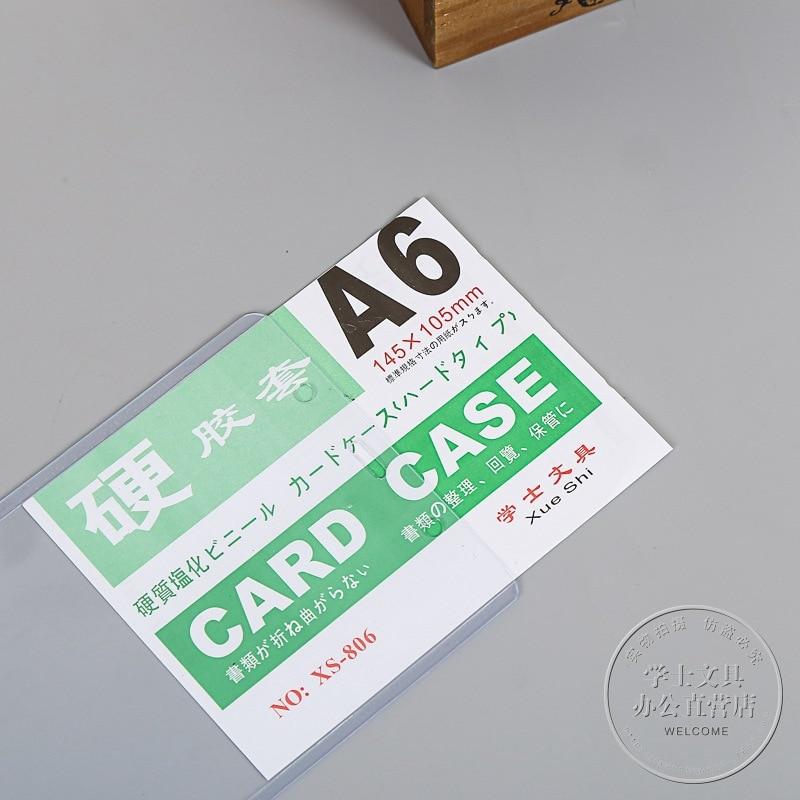 10 Pcs Pvc Klar Ausweis Abzeichen Halter Mit Zipper Büro Schreibwaren QualitäTswaren Abzeichen Halter & Zubehör Etiketten, Indizes Und Stempel