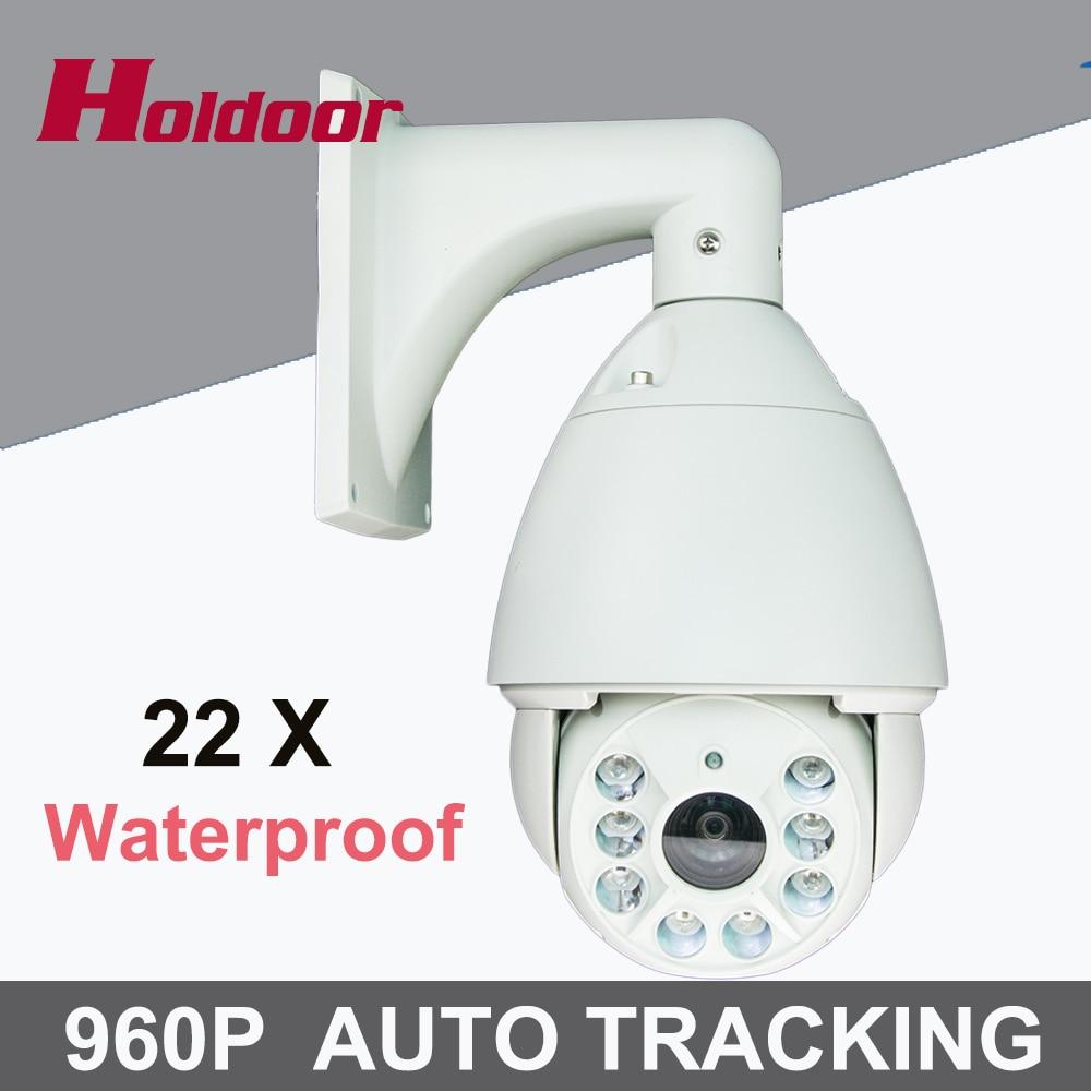 CCTV Camera IP 22X Zoom Camera High Speed Dome Network 960P Auto Tracking PTZ IP Camera Surveillance Security camera IP 7 cctv security hd ip network 960p ptz auto tracking camera high speed 22x zoom ir 100m ip66 256 presets 6 2ledlights