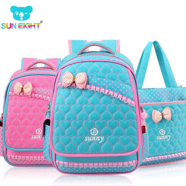 3b7cc0828a03 placeholder New Lace Sweet Girl s School Bags Fashion Lovely Kid Backpack  School Backpack For Baby Girl Primary