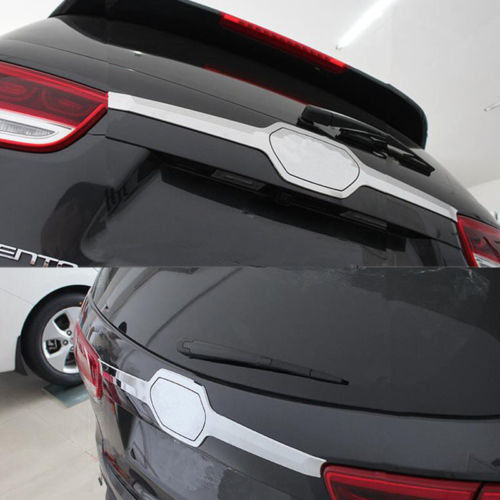 ABS хвост двери декоративной отделкой Sport Version Рамки для Kia Sorento L 2015-2017