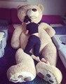 130 см Огромный большой Америка медведь Чучела животных плюшевый мишка плюшевый мягкая игрушка кукла подушки крышки (без вещей) дети ребенок взрослый подарок