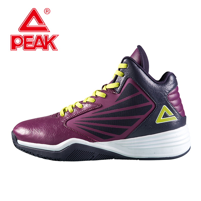 ФОТО PEAK SPORT Men Basketball Shoes FOOTHOLD Tech Athletic Training Sneaker Breathable Non-Slip Athletic Ankle Boots Training Sports