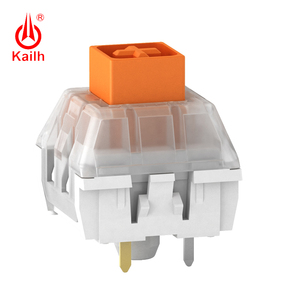 Image 3 - Kailh لوحة المفاتيح الميكانيكية صندوق ثقيل أصفر داكن/أزرق/برتقالي التبديل ، مفاتيح مقاوم للماء والغبار ، 80 مليون دورة الحياة