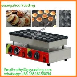 Guangzhou Factory 50pcs electric mini pancakes maker commercial for sale