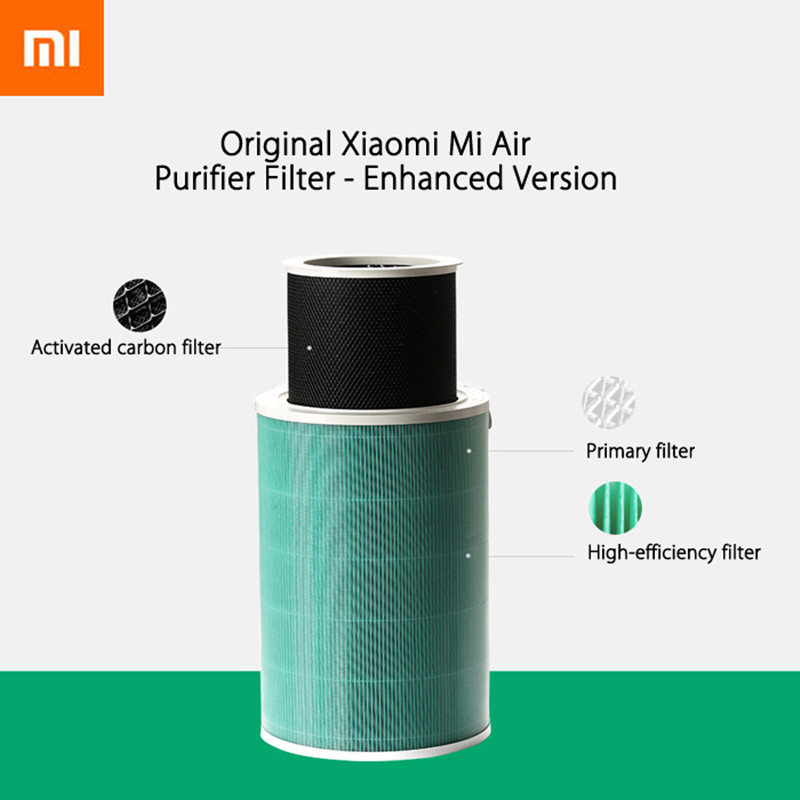 Original Xiaomi Air Purifier Filter Parts Air Cleaner Filter Smart Mi Air Purifier Core Removing HCHO Formaldehyde Version
