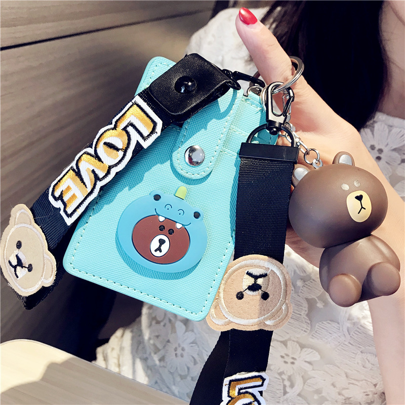 2018 NEW Kawaii Korean Cartoon Totoro ID Card Holder Cute Bank Credit Cards Package Birthday Gift For Girl Boy 2018 NEW Kawaii Korean Cartoon Totoro ID Card Holder Cute Bank Credit Cards Package Birthday Gift For Girl Boy