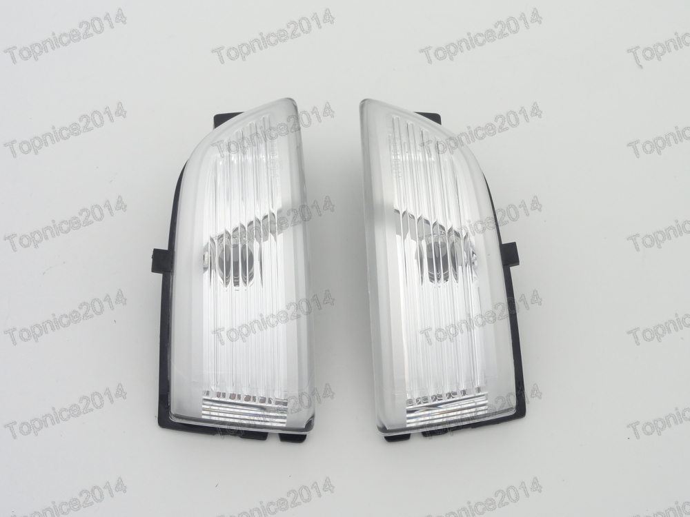 1Pair Right Side turn signal lights rearview wing mirror light lamp For Ford Everest