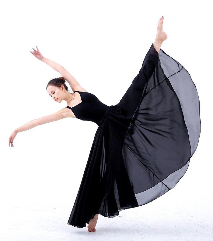 a20e0a7609 Clásico contemporáneo trajes de danza femenina niñas Falda larga 540 ...