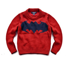 Fashion Kids Sweater bat Printed Long Sleeve Pullovers Knitted Boys Girl Sweaters Spring Autumn Toddler Loose Tops for 2-7T