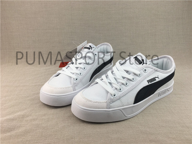 3d04133aac1ab9 2018 New Arrival PUMA SMASH V2 VULC CV Clyde Clear Man s and Women s Sports  Leisure Sneakers Badminton shoes Size 36-44