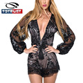 Deep V Neck Sexy Sequin Playsuit Women Short Jumpsuit Mesh Bodysuit Summer Overalls for Women Elegant Jumpsuit Rompers Siamese