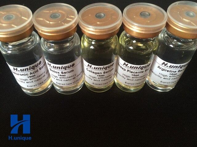 5pcs ชุด Boto X + Hexapeptide + Hyaluronic Acid + คอลลาเจน + Sheep Placenta เซรั่มยกกระชับผิว Anti  ทาปากรักแร้ขาหนีบและหัวนมชมพูหลอดสีแดงขนาด 15 มล.จำนวน 1 หลอด.ฟรี Skin Care