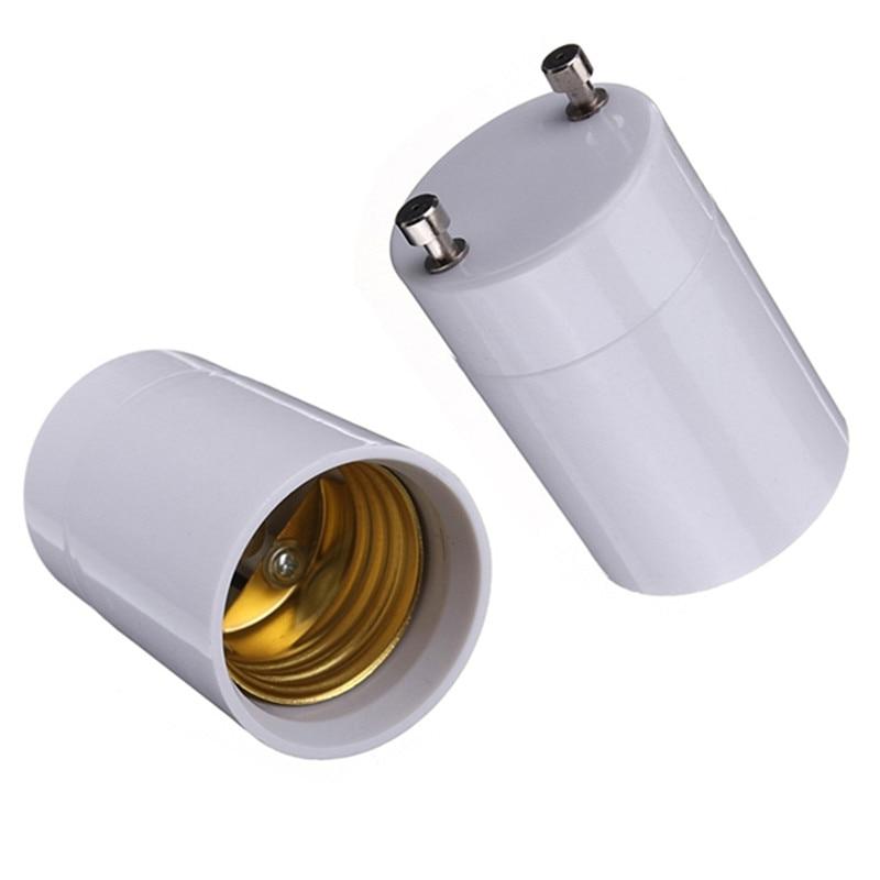 1000pcs GU24 to E27 Lamp Holder Base Bulb Socket Adapter LED Lighting Adapter Converter Wholesale