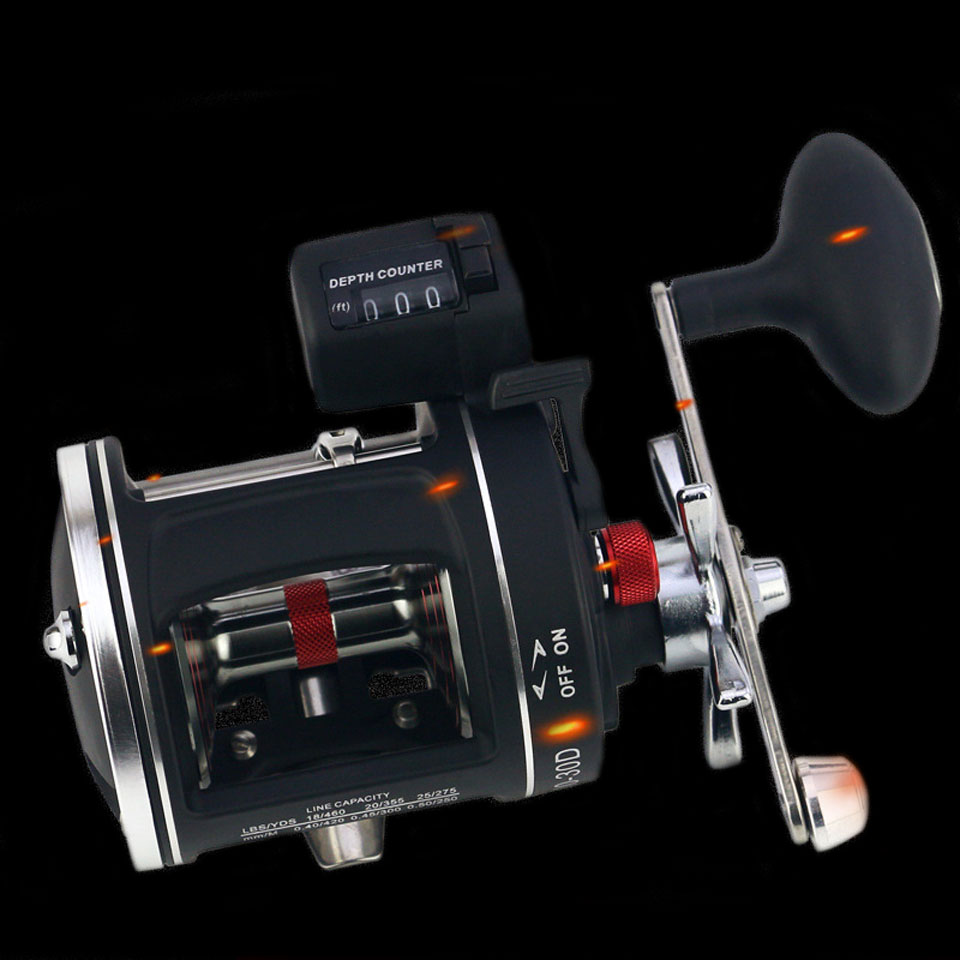WALK FISH Metal Left Right handle Casting Sea Fishing Reel Saltwater Baitcasting Reel Coil 12 Ball