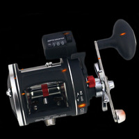 WALK FISH Metal Left/Right handle Casting Sea Fishing Reel Saltwater Baitcasting Reel Coil 12 Ball Bearings Cast Drum Wheel