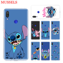 Stitchs Blue Fashion Phone Case for Xiaomi Redmi S2 Y3 Y2 Note 7 7S 6 5 Pro 4 4X Mi Pocophone F1 9 8 A2 Lite Pattern Cover Coque