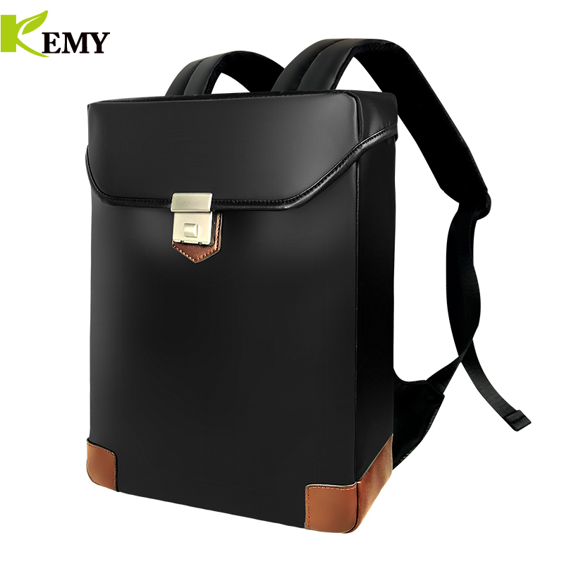 Kemy Best Professional Men Business Backpack Travel Waterproof Slim Laptop School Bag Office
