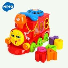 Купить с кэшбэком Twist Lovely Worm Baby Rattles Chocalho Brinquedo para Bebe Eletronicos Train Baby Toys Free Shipping Huile Toys 786B & 8810
