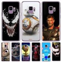 Venom BB-8 Grout Mickey Mouse Stitch joker For Samsung Galaxy J2 2018 J250 SM-J250F Pro 2018 Soft TPU Silicone Phone Case Cover