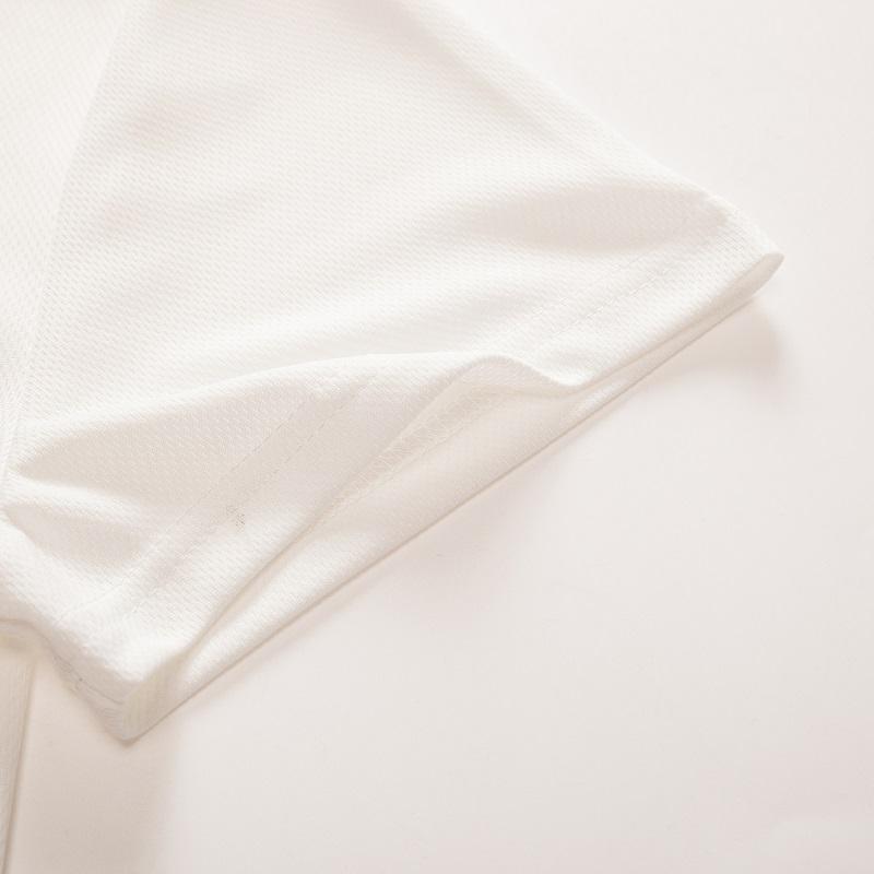 Camiseta blanca 3D calavera 8
