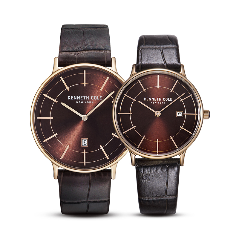 Kenneth Lover Watches For Men Women Quartz Leather Buckle Waterproof Couple Watches Luxury Brand Genuine KC150570