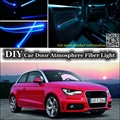 For All Car Interior Light Tuning Atmosphere Fiber Optic Band Ambient Light / Inside Door Cool Strip Light (Not EL light ) Refit