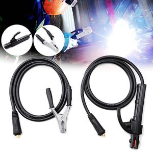 300A Quality Welding Earth Ground Clamp Clip Cable Mig Tig Arc Welder for Professional Use Manual Welder Grip Tool 150 cm Length(China)