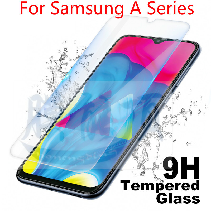2.5D Tempered Glass For Samsung Galaxy A30 A50 Glass Screen Protector Safety Glass For Samsung A10 A40 A90 A70 A20 A60 Glas Film